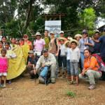 Visita con el proyecto ECOTUR-AP y comunidad